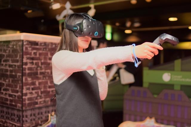 【平日限定・特典付き】VR PARK TOKYO 前売りクーポン(VR 110分遊び放題)