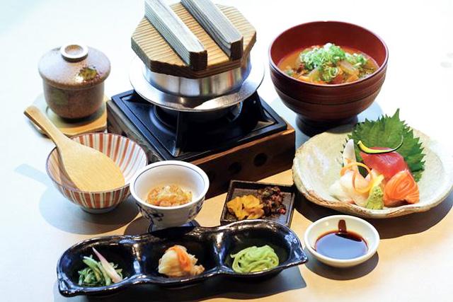 【平日・280円割引】源氏の湯 クーポン(入浴+季節の釜飯御膳)