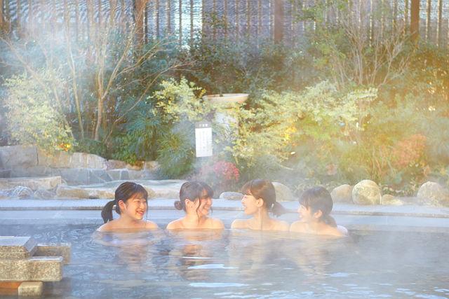 【土日祝220円割引】美楽温泉 SPA-HERBS クーポン(岩盤浴料+入館料)