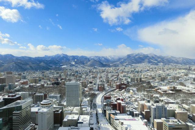 【最大280円割引】札幌 JRタワー展望室 タワー・スリーエイト クーポン(入場+ケーキセット)
