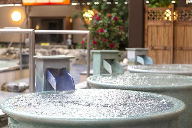 【土日祝100円割引】春日井 笑福の湯 クーポン(入館+レンタルタオル)