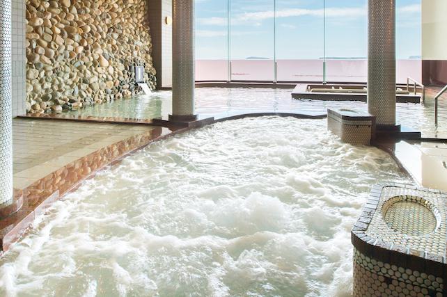 【100円割引】リゾートホテル美萩 クーポン(日帰り入浴)