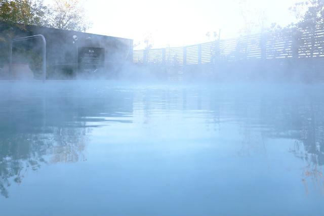 【平日160円割引】ジェームス山天然温泉 月の湯舟 クーポン(入浴+オリジナルタオル)