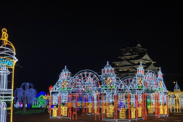 【最大200円割引】大阪城イルミナージュ 前売りWEBチケット(入場)※返金不可※