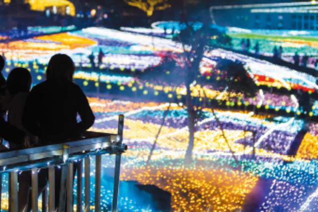 ※11/1日~12/20※【320円割引】つま恋リゾート彩の郷 チケット(イルミ+ビュッフェ)