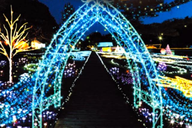 つま恋リゾート 彩の郷 前売りチケット(イルミネーションイベント入場)