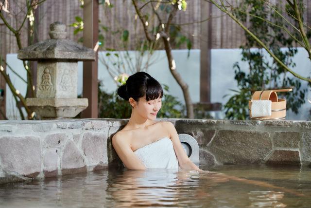 【翌日以降利用可・土日祝・10%割引】空庭温泉 入館クーポン