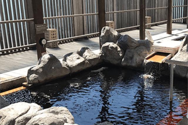 【土日祝・150円割引】天然温泉 ロテン・ガーデン(入館料+岩盤浴+レンタルタオル)