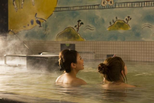 【土日祝・6時~9時限定】しまなみ温泉 喜助の湯 朝風呂チケット(入浴)