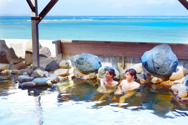 【土日祝日】琉球温泉 龍神の湯 前売り電子チケット(入浴料+タオルセット)