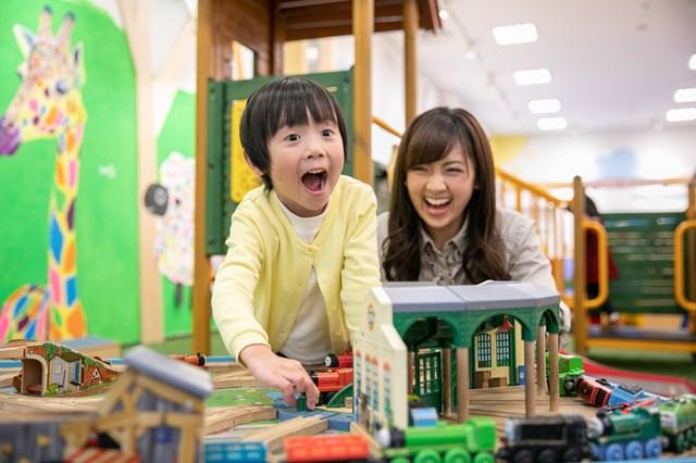 【土日祝・東京お台場】0~12歳向け!屋内パークでたっぷり遊んで学べる120分体験プラン