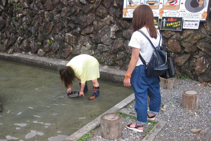 【お得な200円割引】美川ムーバレー 入国料+砂金採り体験セット