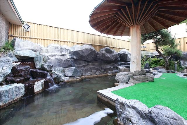 東京健康ランドまねきの湯 遊食処くすのき