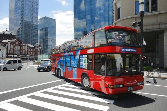 スカイホップバス東京コース 前売り電子チケット(24時間乗り放題券)