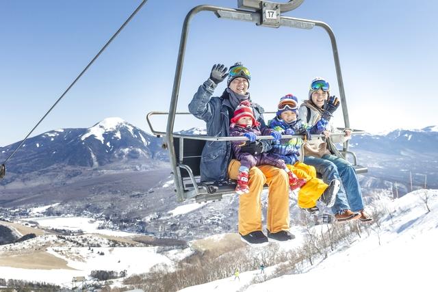 車山高原SKYPARKスキー場 雪山展望リフト山頂往復乗車券(SKY TERRACE完成記念)