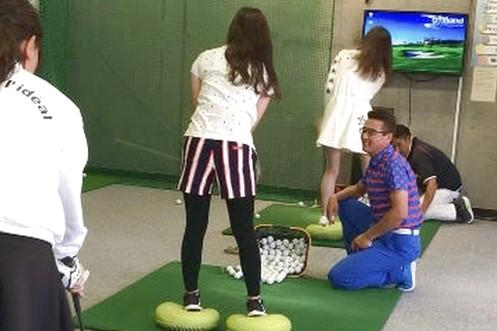 【3回6,600円】西中島 ゴルフ50分(初回利用から2ヶ月)クラブ・靴無料貸出※1人1枚限定