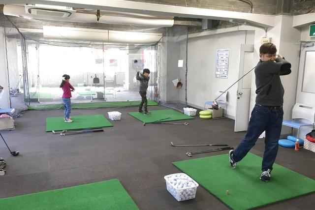 【3回6,600円】三宮 ゴルフ50分(初回利用から2ヶ月)クラブ・靴無料貸出※1人1枚限定