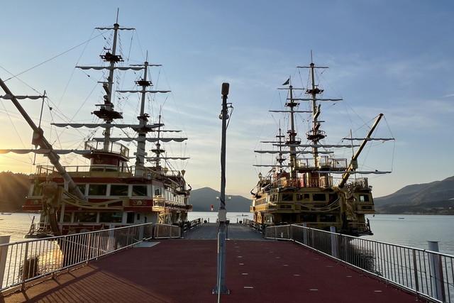 【土曜日・箱根町港発】海賊船イベント便「Sunset Cruise」乗船券