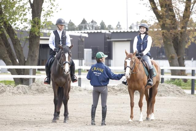 ワオチケ!【45%割引】乗馬クラブ クレイン茨城_乗馬体験2回(初回から1ヶ月)※1人1枚・要予約