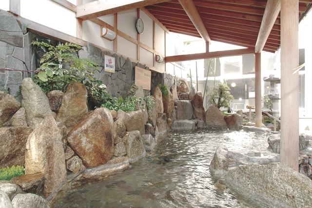【420円割引】スーパー銭湯ユーバス和歌山店 天然温泉入浴+岩盤浴セット